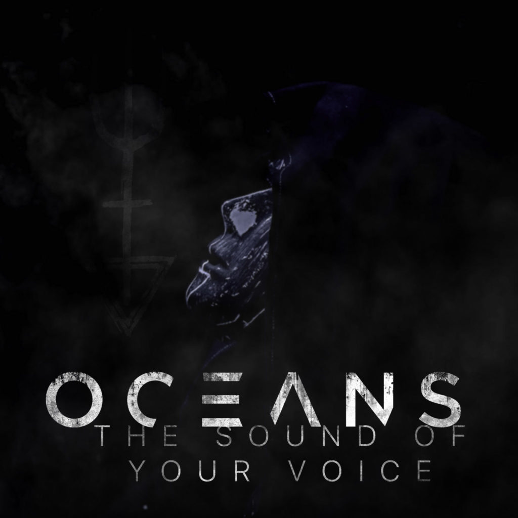 Single Cover for 'The Sound of Your Voice' by 'OCEANS'